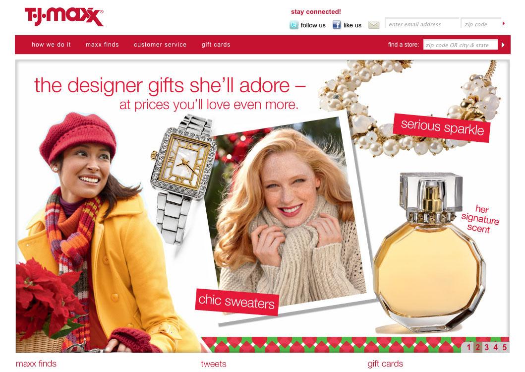 Ashley Klinger Co News Ericka Mcconnell Shoots Tjmaxx Holiday